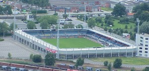 Bubbelvoetbal stadion RBC Roosendaal